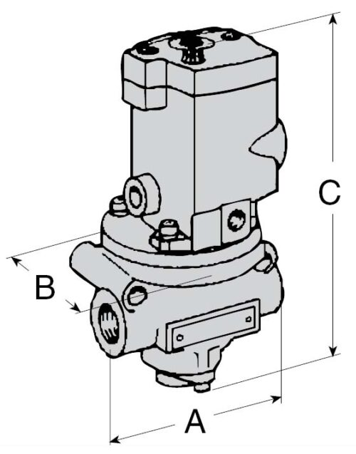 Poppet Valves with & w/o Control Options 27 Series