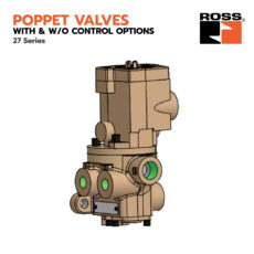 Poppet Valves with & w/o Control Options