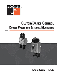 CROSSFLOW Double Valves for External Monitoring 35 Series