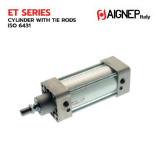ET Series Cylinder with tie rods ISO 6431