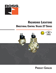 Explosion-Proof Directional Control Poppet Valves 27 Series