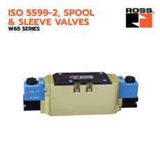 ROSS Controls® ISO 5599-2 Spool and Sleeve Valves - W65 Series