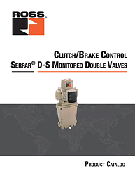 SERPAR Double Valves with D-S Monitor Series 35