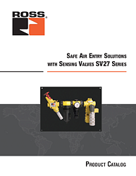 Safe Air Entry Solutions with SV27 Series Sensing Valves