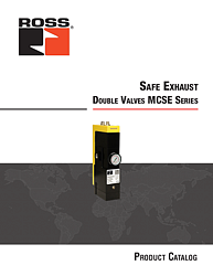 Safe Exhaust Double Valves with Soft-Start MCSE Series